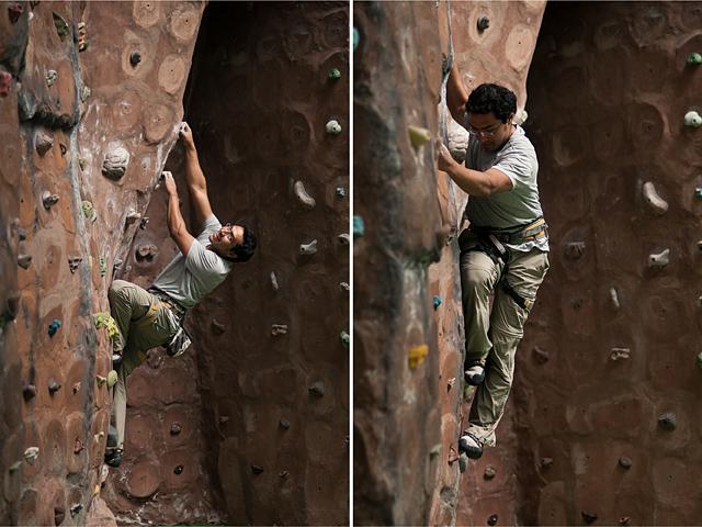 Ricardo Climbing